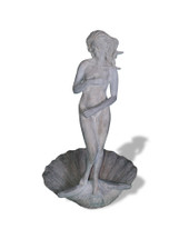 Botticelli Venus Standing on Clam Shell Statue