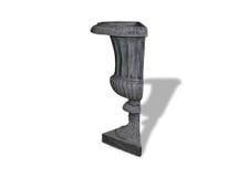 Half Classic Ribbed Urn (2 Halves)