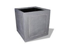 Recessed Panel Square Planter
