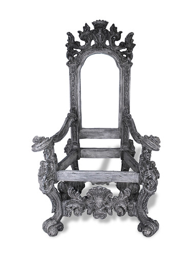 Home · Decorative Pieces; Throne Chair. Image 1