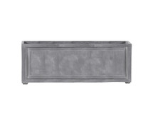 Recessed Panel Rectangular Planter