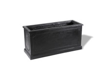 Paneled Rectangular Planter