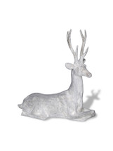 Resting Stag Deer Statue