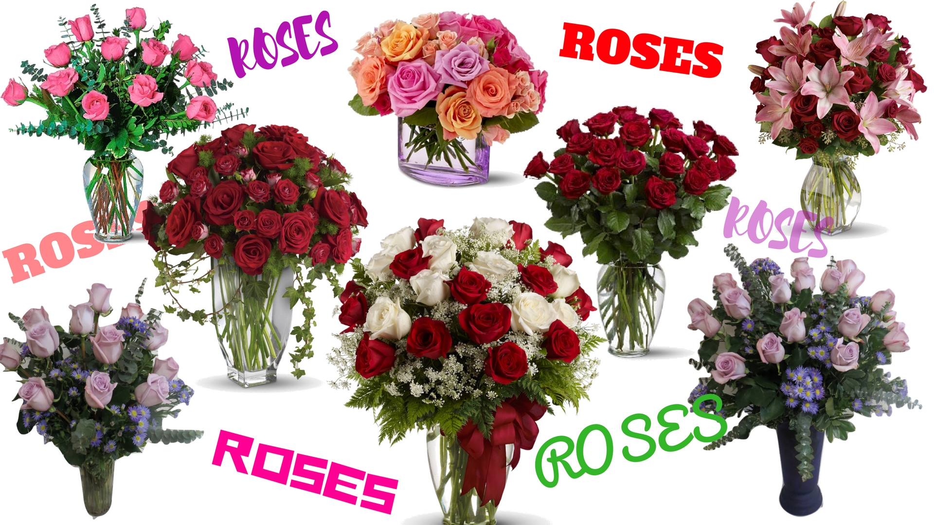 Beautiful Flowers For Valentines Day Card Message Ideas 3