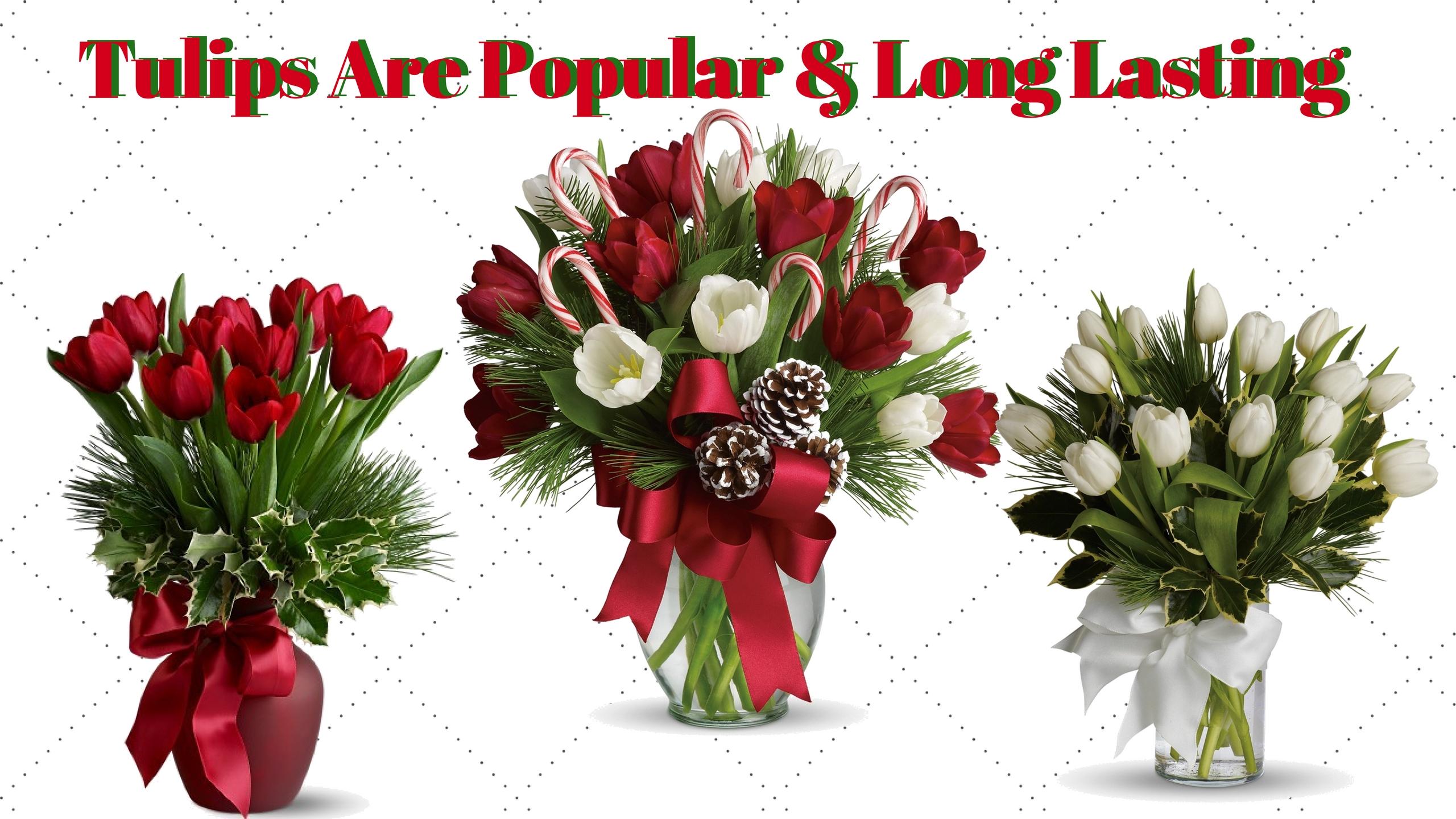 tis the season for delivering festive christmas floral, Natural flower