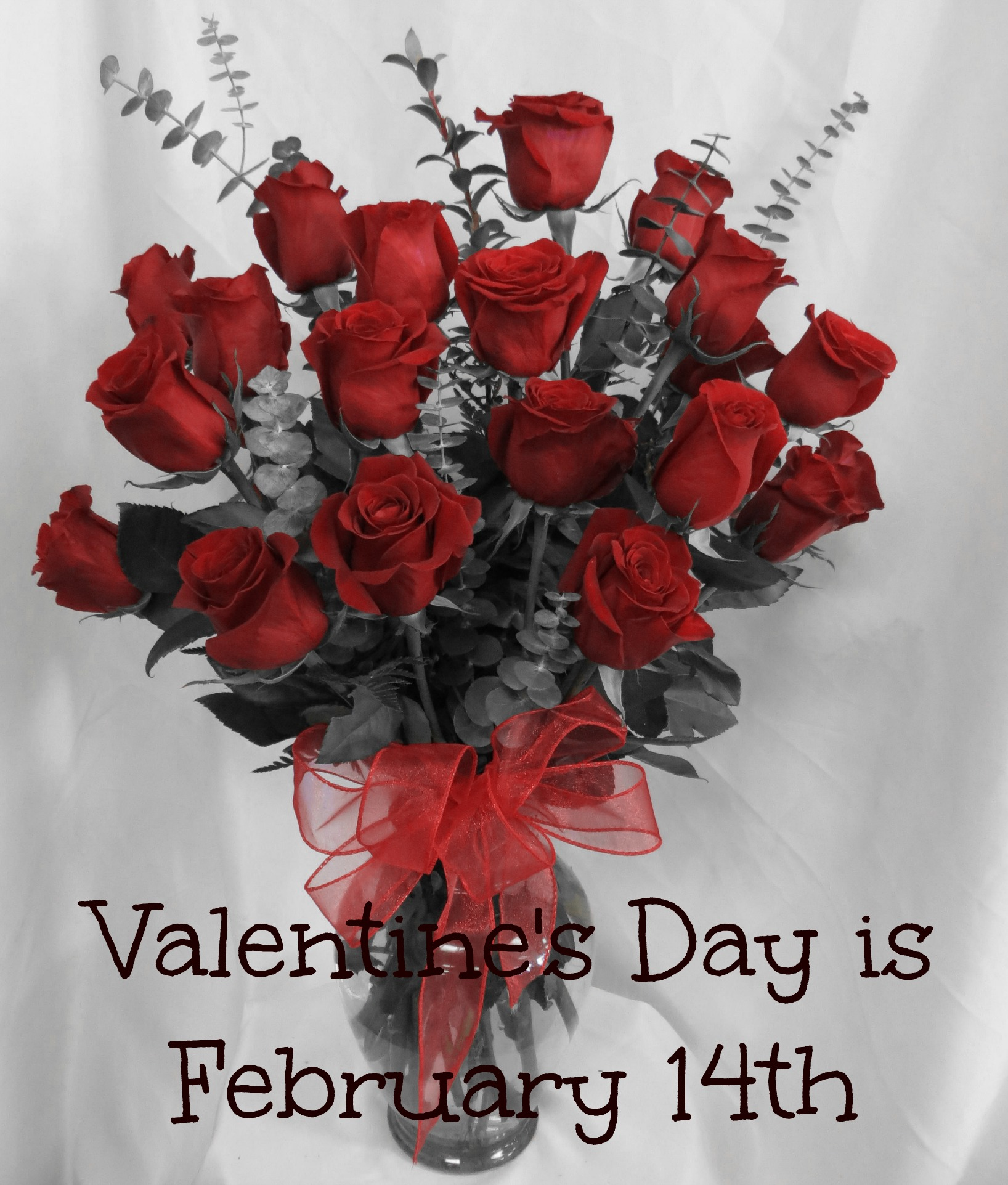 dozen roses for valentines day pasadena deer park - Valentine Flower Delivery