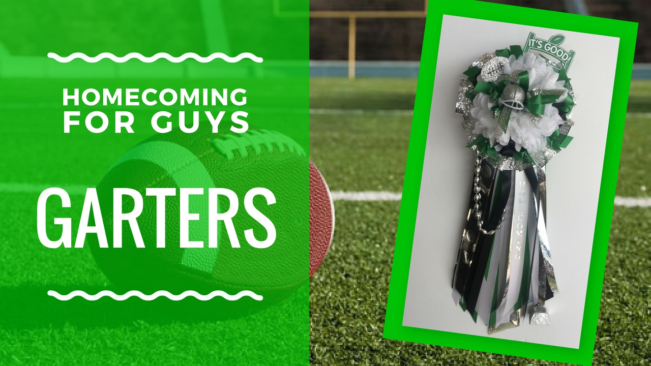pasadena high school homecoming garter