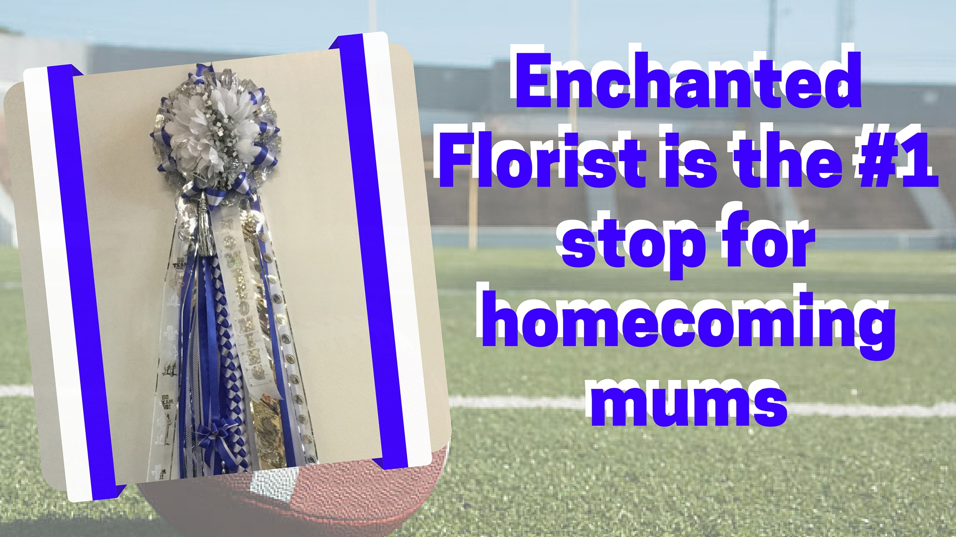 Chavez high school homecoming mum