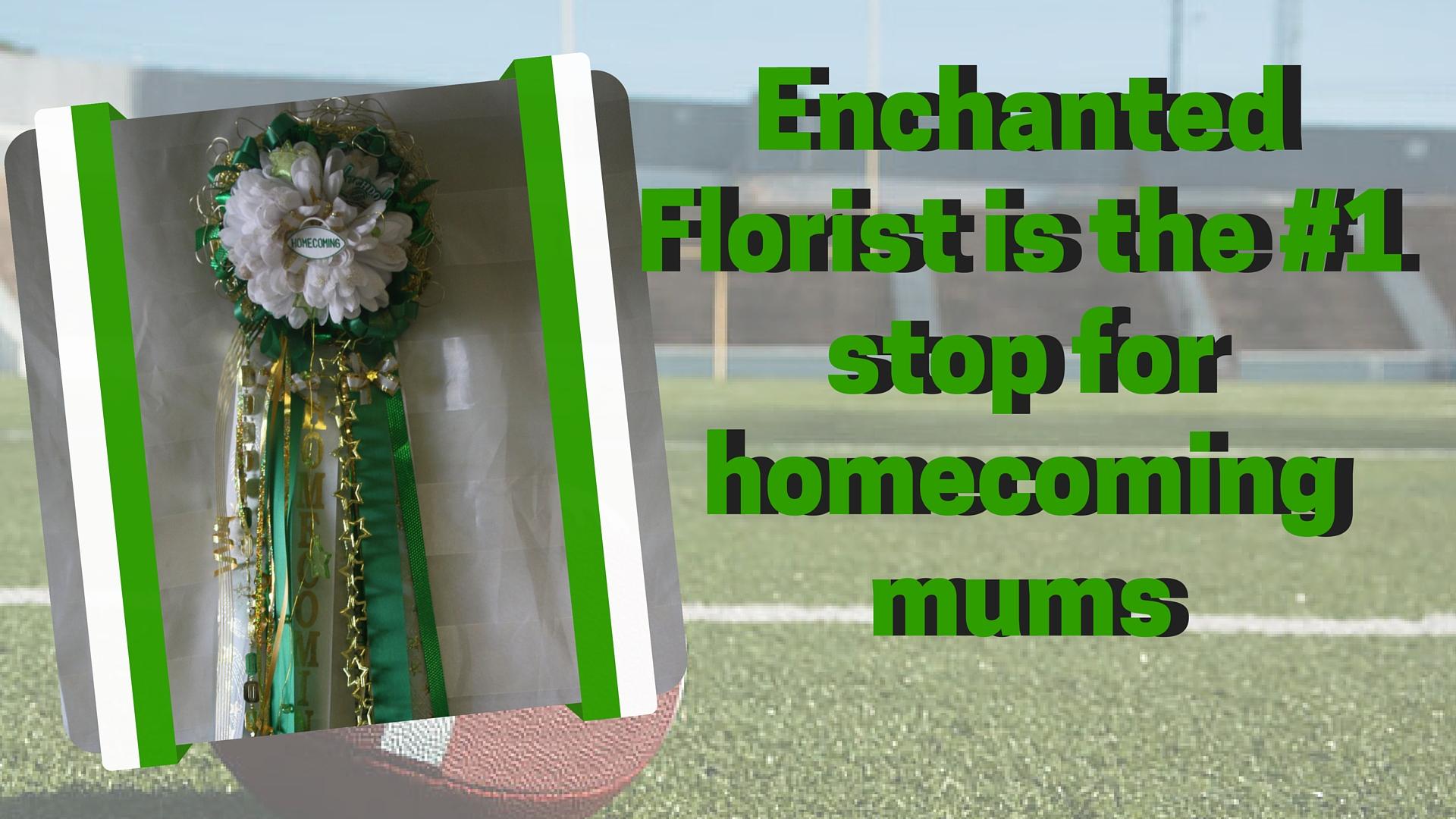 Pasadena High School homecoming mum