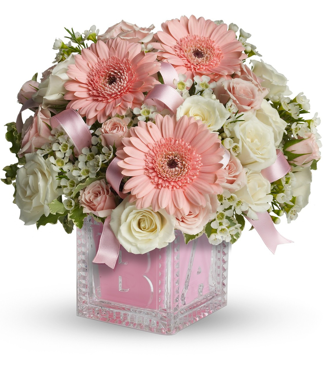 The FTD® Tiny Miracle New Baby Girl Bouquet