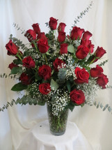 Send her the Ultimate Love Three Dozen Red Roses and blow her away. Three dozen beautiful red roses will surely impress her! Beautiful red roses delivered by Enchanted Florist Pasadena.  We offer daily delivery to Houston, Deer Park, Pasadena, Clear Lake, Webster, La Porte and more. RM366
