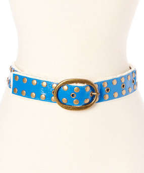 Upcycled kids belt, Heavy-duty metal buckle, studs, eyelets convert this upcycled layflat material into a cutting-edge belt with an eco-friendly stance! Our kids will fit most girls because we use 7 eyelets instead of the standard 3. 28 inches