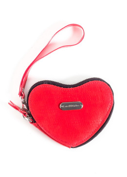 Red Heart Coin purse