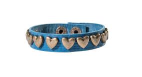 Eco-Chic Heart studded Bracelet