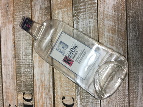Kettle One Vodka Handmade melted bottle serving tray - Great one kind gifts