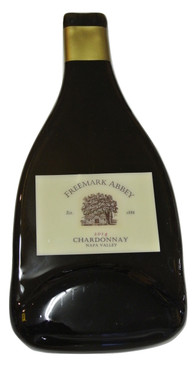 Freemark Abbey Chardonnay Melted Wine Bottle Cheese Serving Tray - Wine Gifts