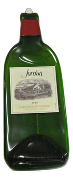 Jordan 2010 Melted Wine Bottle Cheese Serving Tray - Wine Gifts