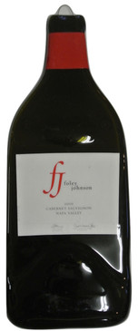 Foley Johnson 2010 Cabernet Sauvignon Napa Valley Cheese Plate-Melted Wine Bottel