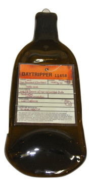 Daytripper California Petite Sirah Quartet Melted Wine Bottle Cheese Serving Tray - Wine Gifts