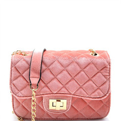 Blush Cross Body Clutch