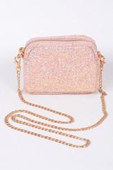 Pink Sparkle Clutch