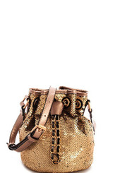Gold Crossbody Shoulder bag
