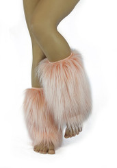 Blush Long Maddy Boot Covers