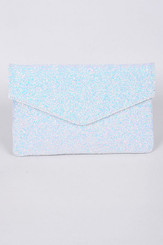 Icey Envelope Sparkling Clutch