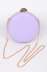 Lavender Circle Clutch