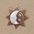 CELESTIAL SUN MINI NEEDLE MINDER