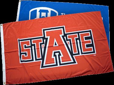 Custom made Advertising Flags by Ameritex Flag and Flagpole LLC
