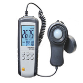 Light Meter LUX, Wide Range 400,000 lux, Data Logger Software
