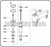 Grex Replacement O-Ring Kit - P645KD P650KD