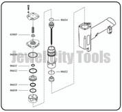Grex Replacement O-Ring Kit for P630 Pinner Nailer