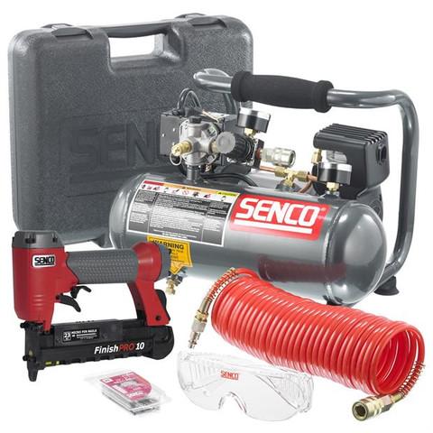 "Senco 1"" Micro Pinner and PC1010 Compressor Kit PC0974"