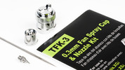 Grex 0.3mm Fan Spray Cap & Nozzle Kit - TFK-3