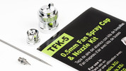 Grex 0.5mm Fan Spray Cap & Nozzle Kit - TFK-5