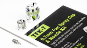 Grex 0.7mm Fan Spray Cap & Nozzle Kit - TFK-7