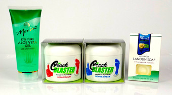Crack Blaster kit, Aloe and Lanolin Soap