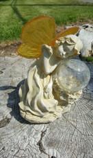 Serenity Fairy, amber solar LED light, great for Memorial