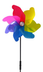 Windmill Spinner Solar powered, Color Change LED lights