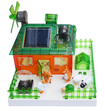 Solar Eco-farm Show-and-Tell Renewable Energy Science Educational Kit