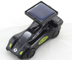 Solar Black Race Car,  Fast Speed for Races
