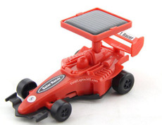 Solar Red Buggy Race Car, Fast Speed for Races