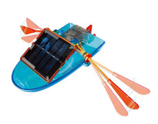 Solar Paddle Boat, Basic Assembly Toy Kit