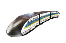 Solar Bullet Train and Light Rail Transit, Assembly Toy Kit