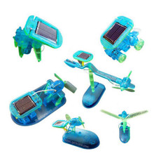 Solar Blue Renewable 6 in 1 Kit, Assembly Toy Kit