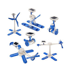 Solar Renewable 6 in 1 Robot Kit, Assembly Toy Kit
