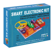 Snap-on Circuits Electronic Educational Kit, 58 Models to Build