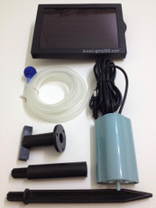 Solar Oxygenator for Outdoor Pond Air Pump